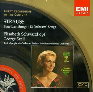 STRAUSS - Four last Songs - 12 Orchestral Songs