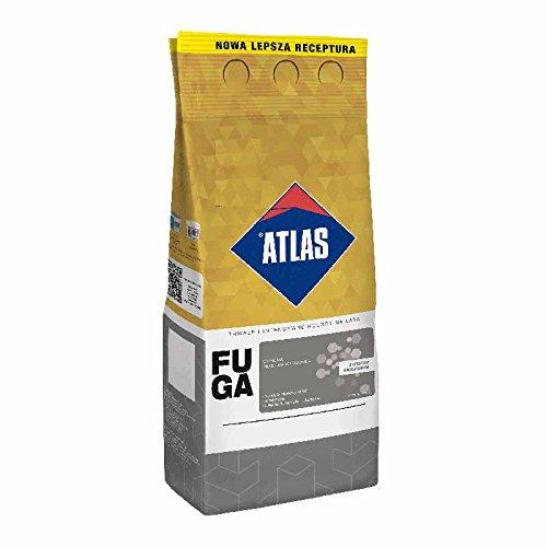 Fugenmörtel feinkörniger Zementmörtel 1-6 mm Silbergrau ATLAS 5Kg F136