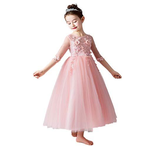 Kostüm Schneekönigin Ballett - Kinder tanzen Kostüme Kinder prinzessin bodenlangen geschichteten puffy tüll kleider spitze applique gesticktes kleid mädchen ballkleid hochzeit prinzessin brautjungfer party prom geburtstag dress für
