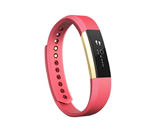 Fitbit Special Edition Alta Fitness-Armband, Rosa/Gold, S