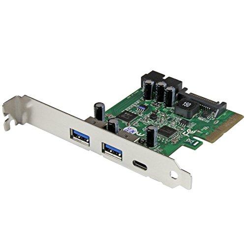 StarTech.com - Tarjeta Combo PCI Express de 5 Puertos USB 3.1 (10Gbps) - 1x USB-