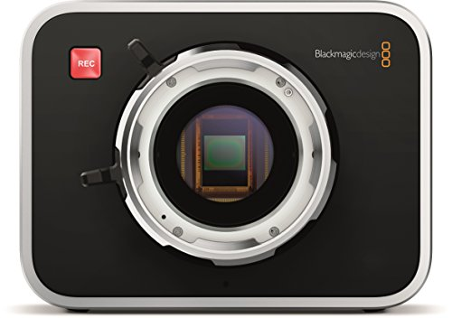 "Blackmagic Design Cinema Camera with PL Mount, 5"" LCD Display, 2400x1350 Sensor Resolution, 10-Bit HD-SDI Video/3.5mm Stereo Headphone/2 Channel HD-SDI Audio Output"