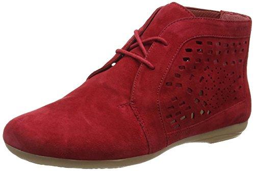 Marc Shoes Janine, Bottes Type Desert Boots Non doublées - Hauteur à mi-Mollet Femme