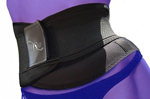 LWS Stützgürtel zur Stabilisierung der Lendenwirbelsäule - gegen Rückenschmerz (S-Klein)