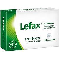 Lefax Kautabletten, 100 St. preisvergleich bei billige-tabletten.eu