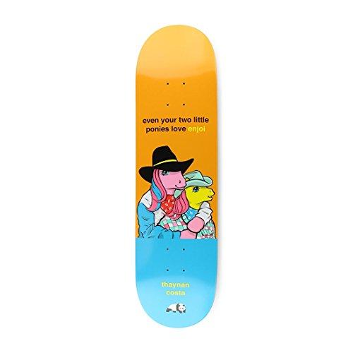 Enjoi My Little Pony 3rd Imp Light 8.25 Inch Skateboard Deck 8.25 inch Orange
