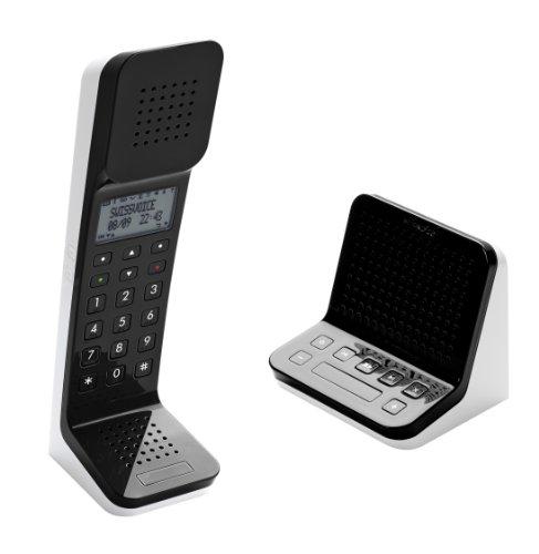 Swissvoice L7 TAM Schnurloses DECT Telefon mit Anrufbeantworter schwarz
