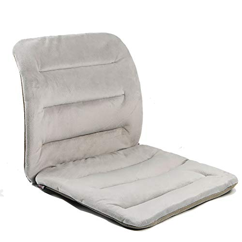 KTOL Terrasse Stuhl Sitzauflage, Sessel Pad Mat Bürostuhl Sitzauflage Wildleder 100% Perlenbaumwolle Stuhlauflagen Nicht-Slip-grau 110x50cm