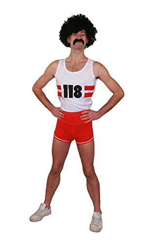 I love Fancy Dress ilfd4512l Unisex Marathonläufer Kostüme (Marathonläufer Kostüm)