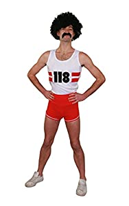 I Love Fancy Dress. ilfd4512s Unisex Marathon Runner Disfraces (Pequeño)