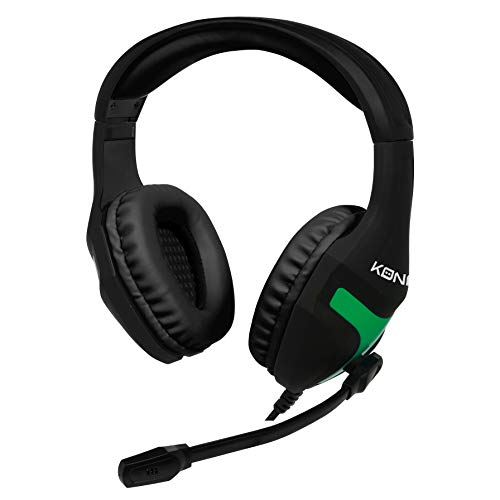Konix MS-400 - Casque Gaming Xbox One Compatible PS4, PC, Tablette, Smartphone - Haute Qualité Audio - Micro Casque Gamer Avec Microphone