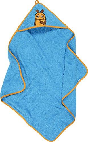 Playshoes Kinder Frottee Kapuzen-Handtuch, praktisches Kapuzentuch für Mädchen\n, mit Maus-Stickung