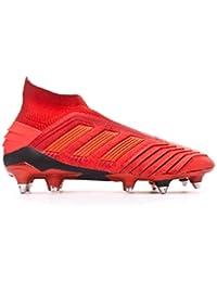 factory authentic 0caa2 63d9a adidas Predator 19+ SG, Bota de fútbol, Active Red-Solar Red-