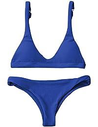 ZAFUL Mujer Bikini Conjuntos Trajes de baño