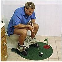 Primi Mini Toilette Jeu de golf Putter Tapis de putting Golf