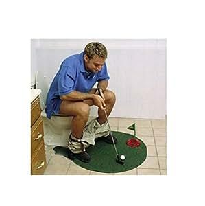 primi mini toilette jeu de golf putter tapis de putting golf jeux et jouets. Black Bedroom Furniture Sets. Home Design Ideas