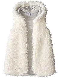 Splendid Little Girls' Reversible Hooded Vest