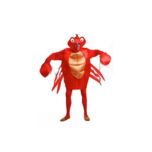 Imagen de disfraz de cangrejo para hombre talla universal m l