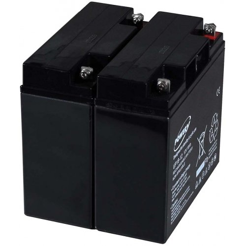 akku-net Blei-Gel-Akku für USV APC Smart-UPS 1500, 12V, Lead-Acid Smart Ups 1500 Batterie