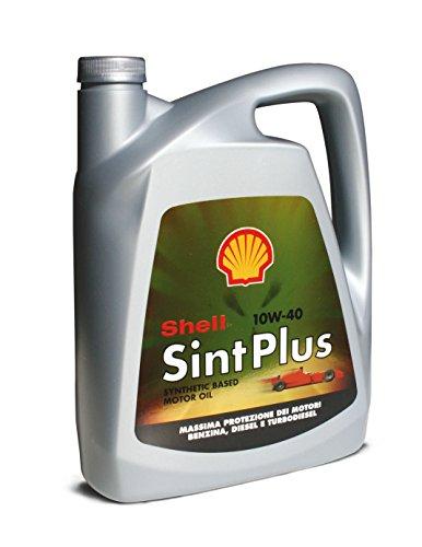 Shell 070.00000000007875 Olio Sintetico Plus 10W40, Lubrificanti Cura Auto Accessori, 4 lt, Natu