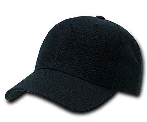 casquette-baseball-couleur-pur-chapeau-classique-gouttiere-incurve-unisexe-noir