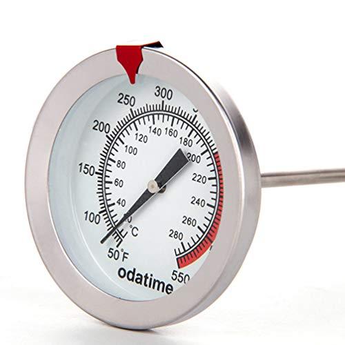 ACORRA Edelstahl Fleischthermometer mit Clips und Sonde Instant Degree Lebensmittelkochthermometer Digital Thermometer -
