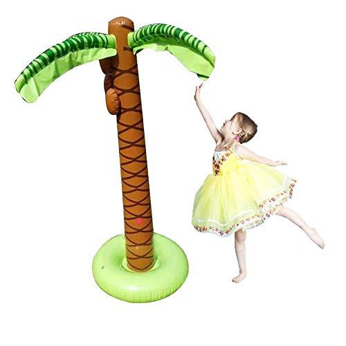 re Palmen, Wassersprüher, Jumbo-Kokosnussbäume, Strand-Hintergrund, Gastgeschenk für Happy Birthday, Foto-Requisiten, Party-Dekoration Zubehör ()