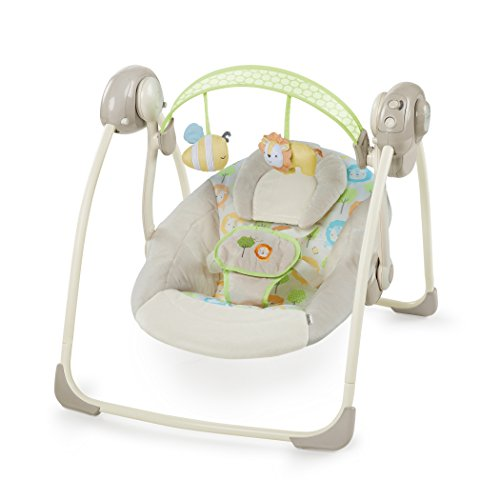 Ingenuity 10248 Soothe and Delight Portable Swing - Sunny Snuggles