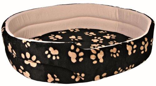 Artikelbild: Trixie 37015 Charly Bett, 70 × 62 cm, schwarz/beige
