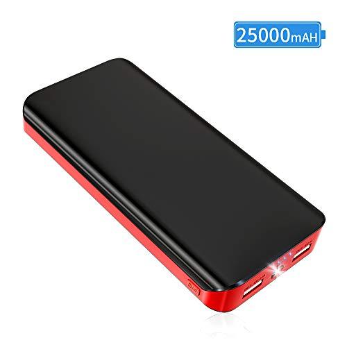 Batería Externa movil Power Bank 25000mAh Cargador