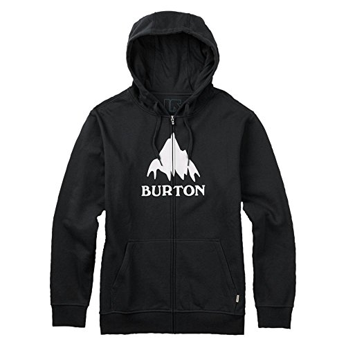 Burton Herren Classic Mountain Full-Zip Hoodie True Black