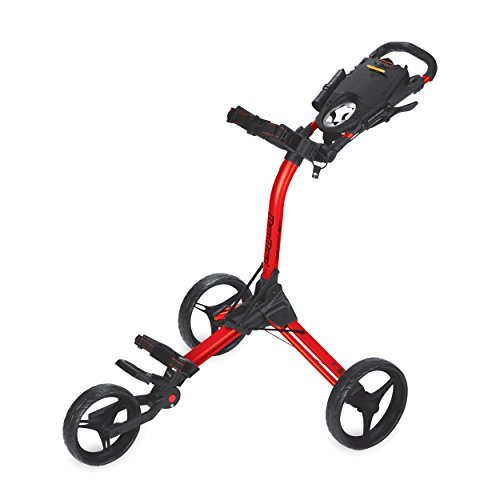 Bag Boy BB71830EU Chariot de Golf Mixte Adulte, Rouge/Noir