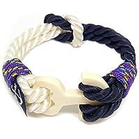 Nodo Bracciale di ancoraggio Di Bran Marion braccialetto corda regalo perfetto braccialetto nautico unisex braccialetto...