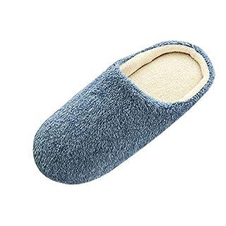 Saihui_Schuhe Hausschuhe Herren Damen Winter Baumwolle Wärme Pantoffeln Indoor Plüsch rutschfeste Weiche Schuhe Anti-Slip Slippers.