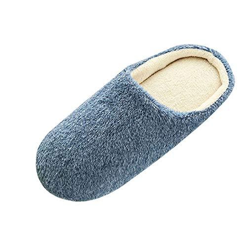 Unisex Zapatillas De Estar por Casa Mujer Invierno Animados Zapatillas de Algodón de Otoño Invierno...