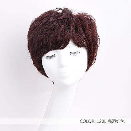 ZHUDJ-Wig-Short-Hair-Short-Curling-Set-Fluffy-Natural-Wigs-Caps