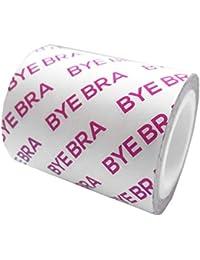 Bye Bra Breast Tape Roll, Sujetador adhesivo, Dinta De Levantamiento De Senos, con 3 Pares De Pezoneras Adhesivas, Hasta 3 metros de largo, Adecuado Para Tamaños de Copa A-D+