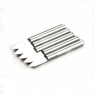 Autek 5 x Engraving Bits CNC PCB Carbide Milling Cutter Tool 60° 0.2 mm