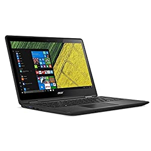 Acer Spin SP513-51 13.3-Inch Convertible Laptop – (Black) (Intel i3-6006U2 GHz Processor, 4 GB RAM, 128 GB SDD, Windows 10)