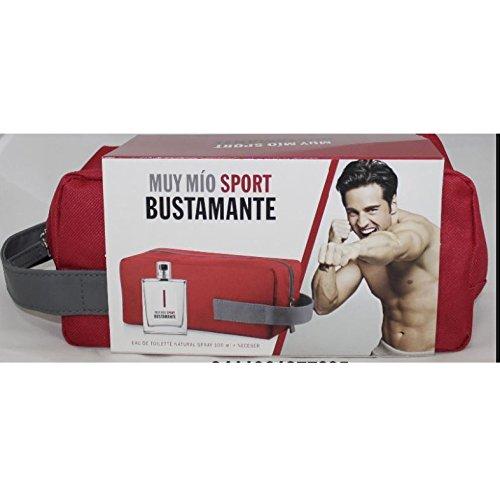 Estuche For Men Muy Mío Sport Bustamante Colonia spray 100 ml + Neceser