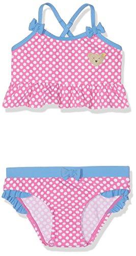 Steiff Baby-Mädchen Bikini 6717545, Rosa (Carmine Rose 2290), 80