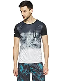 Indigo Nation Street Men's Solid Slim Fit T-Shirt
