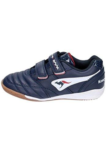 KANGAROOS Sneakers, Hallenschuhe Power Court, Sportschuhe blau, 150451-51 blau