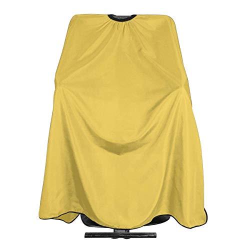Mustard Personalized Custom Professional Friseursalon-Schürze, Polyester Hair Shawl 55