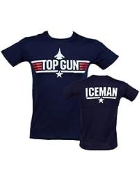 Top Gun Iceman Herren T Shirt