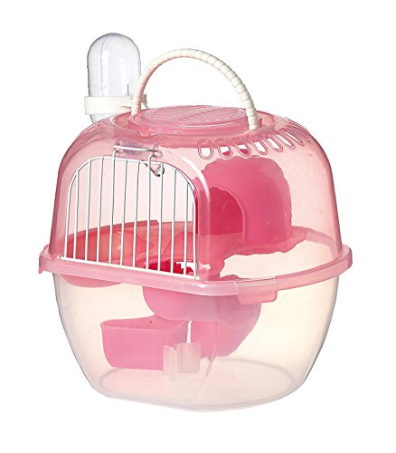 SatisPet Nain et Hamster Syrien Portable Cage...