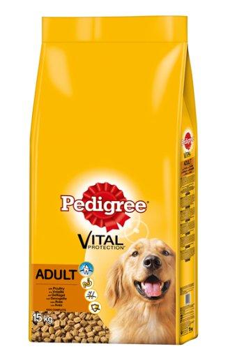 Pedigree Adult Hundefutter Geflügel - 1 x 15 kg
