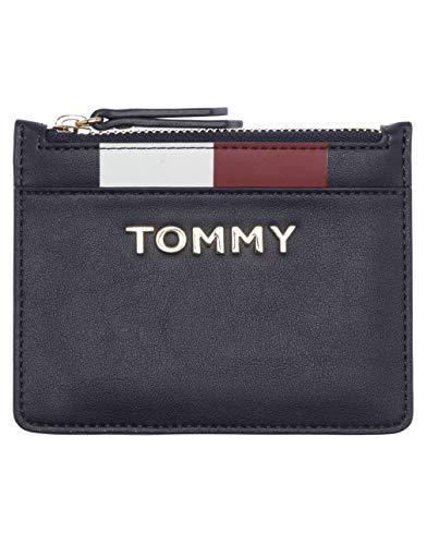 Tommy Hilfiger Th Corporate Mini Cc Wallet - Portafogli Donna, Blu (Tommy Navy), 1x1x1 cm (W x H L)