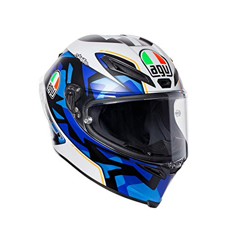 AGV Motorradhelm Corsa R E2205 Replica PLK, Espargaro Blau 2017, Größe ML