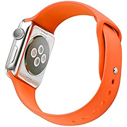 Strap iWatch G421 Silicone Orange